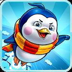 Penguin Jump Icon