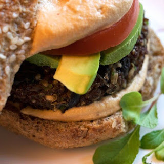 Triple Protein Quinoa Burger Patties