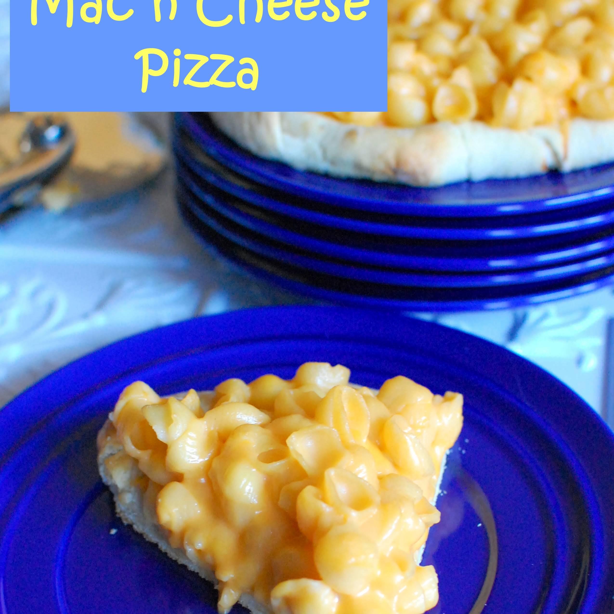 Mac n Cheese Pizza