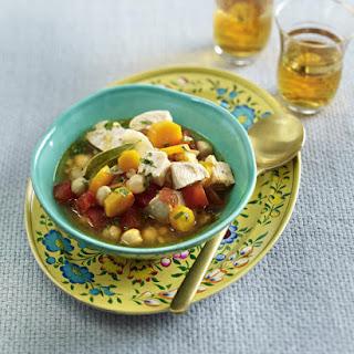 Chicken, Lentil and Chickpea Stew.