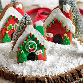 Easy Gingerbread Dog Houses Recipe