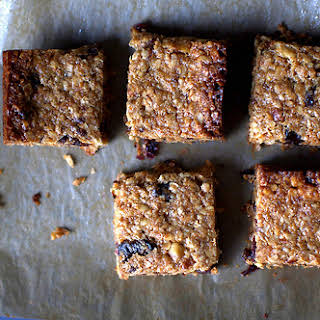 Thick, Chewy Granola Bars.