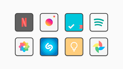 PC u7528 Flat Squircle - Icon Pack 2