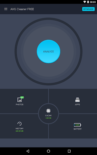 AVG Cleaner, Booster & Battery Saver for Android Screenshot
