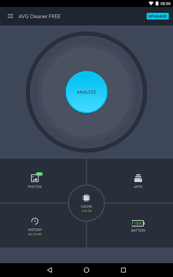 AVG Cleaner for Android phones- screenshot