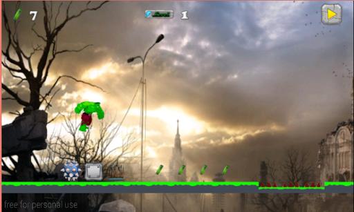 玩免費冒險APP|下載Incredible Green Hero app不用錢|硬是要APP