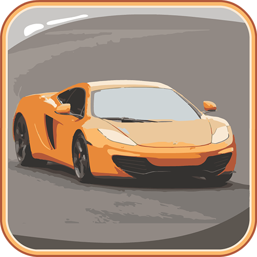 益智の車:クイズ LOGO-記事Game