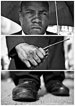 Photo: Triptychs of Strangers #18, The Revolutionary Security Guard > Full Story: http://goo.gl/4WSd0