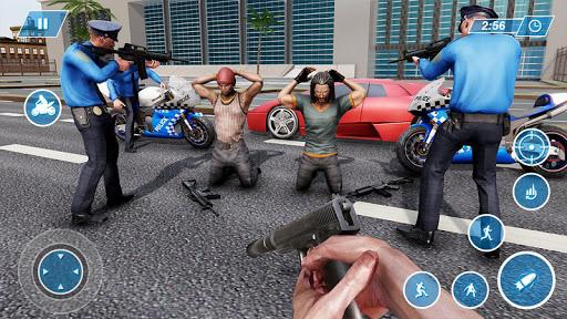 US Police Bike Chase 2020 3.7 screenshots 6