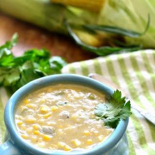 {Dairy-Free} Creamy Corn Chowder