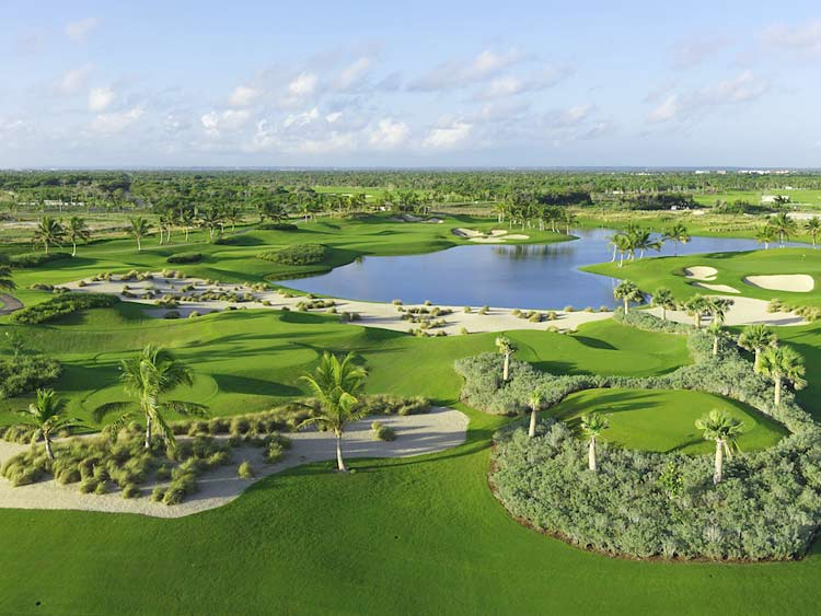 The course at Puntacana Resort in the Dominican Republic, one of the best bets for a golf getaway in the Caribbean.