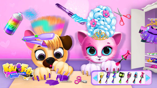 Kiki & Fifi Pet Beauty Salon - Haircut & Makeup apkpoly screenshots 4