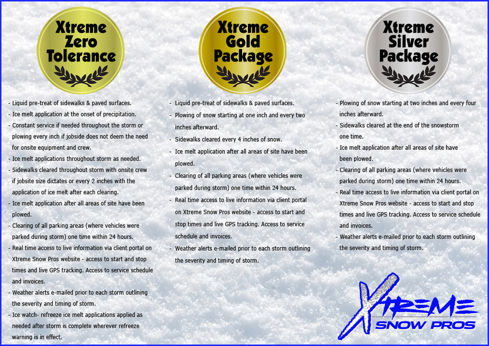 Xtreme Snow Pros Packages