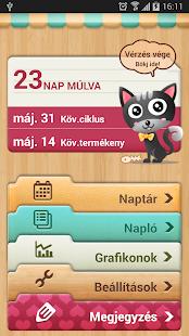 menzesz naptár telefonra Periódusnaptár  Period Tracker – Alkalmazások a Google Playen menzesz naptár telefonra
