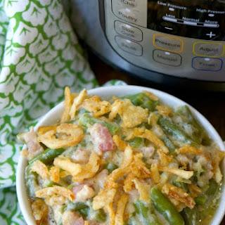 Instant Pot Green Bean Casserole.