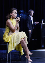"""Photo: WIEN/ Theater in der Josefstadt: """"VOR SONNENUNTERGANG"""" von Gerhard Hauptmann. Premiere 3.9.2015. Martina Stilp, Christian Nickel. Copyright: Barbara Zeininger"""