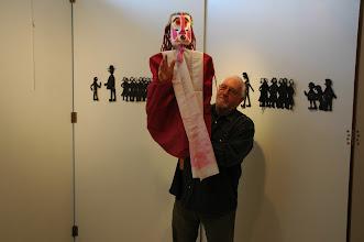 Photo: Préparation de l'exposition
