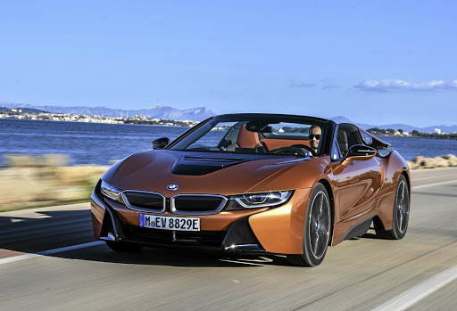 The i8 Roadster is a great piece of automotive design art
