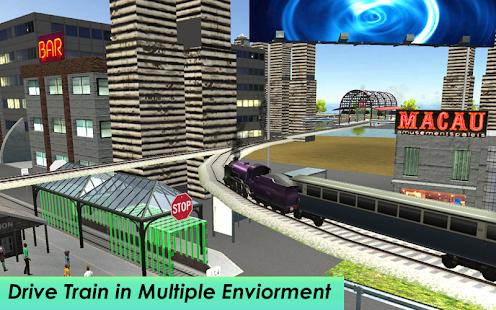 City Subway Train Driver Simulator - náhled