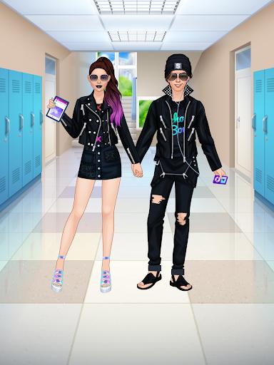 High School Couple: Girl & Boy Makeover 1.6 screenshots 14