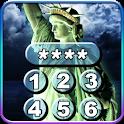 New York tela de bloqueio. icon