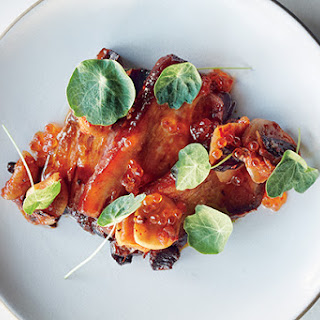 Galangal-Braised Pork Belly With Trout Roe