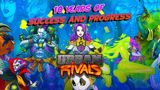 Urban Rivals- screenshot thumbnail