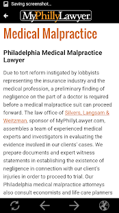 MyPhillyLawyer- screenshot thumbnail