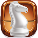 Chess for two players icon