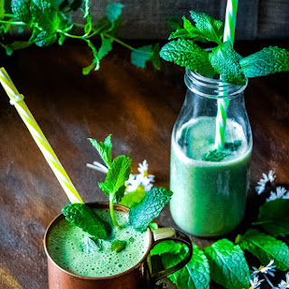 Mint Smoothie.