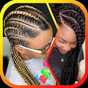 African Women Braids icon