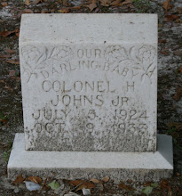 Photo: Colonel H Johns (Child) son of Colonel H Johns and Della Johns