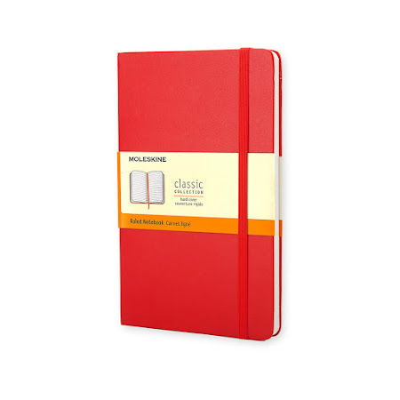 Classic Hard Cover Pocket Plain Red