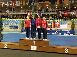 Photo: Mia Nordbeck Jensen. EM bronzemedalje i præcisionsskydning