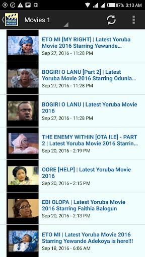 Yoruba Nigeria Movies