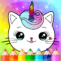 World of Unicorn Cats - Caticorns Coloring Book icon