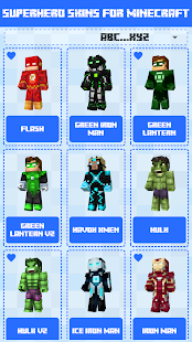 Superhero Skins for Minecraft PE 🎮 3