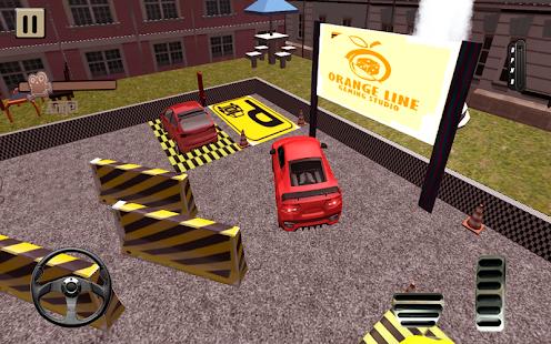 Valet Car Parking Drive simulator 3D - náhled