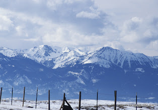 Photo: The front range of the Wallowa Mountains