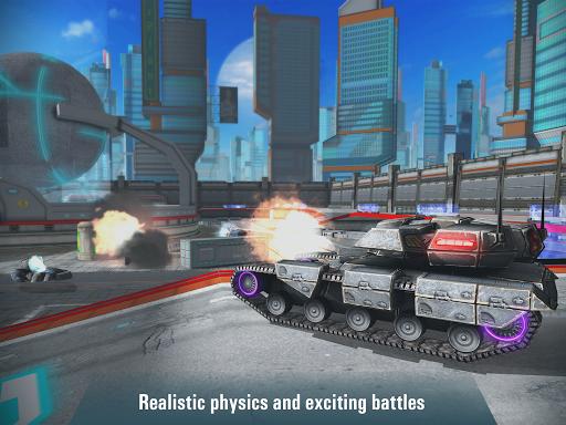 Iron Tanks: Free Multiplayer Tank Shooting Games 3.04 screenshots 3