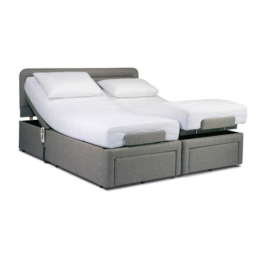 Sherborne Dorchester Adjustable Bed in Acapulco Grey