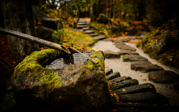"""Photo: This photo appeared in an article on my blog on Feb 16, 2013. この写真は2月16日ブログの記事に載りました。 """"Kyoto's Housen-in Temple Part 3: Rock Garden Desktop Backgrounds"""" http://regex.info/blog/2013-02-16/2211"""