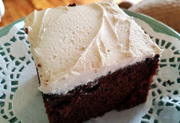 ~  Choc - Kahlua Cake W/ White Russian Frosting ~ Recipe