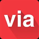 VIA - Flight Hotel Holiday Bus icon