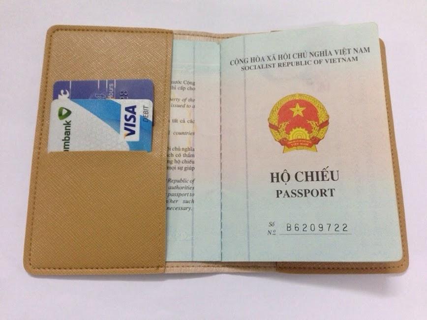 Vỏ bảo vệ Hộ Chiếu ( Passport cover, Passport Holder ) cực độc