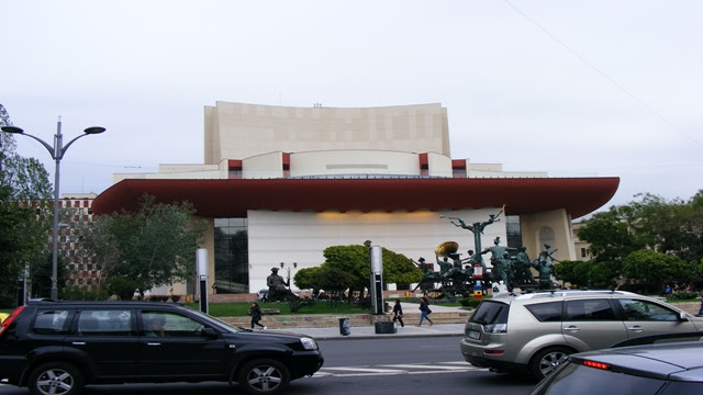 Romanian National Theater in Bucharest