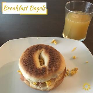 Breakfast Bagels.