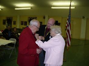 Photo: 50 Year Recipient Robert A. Schafer 32, Grand York Rite Secretary of NC