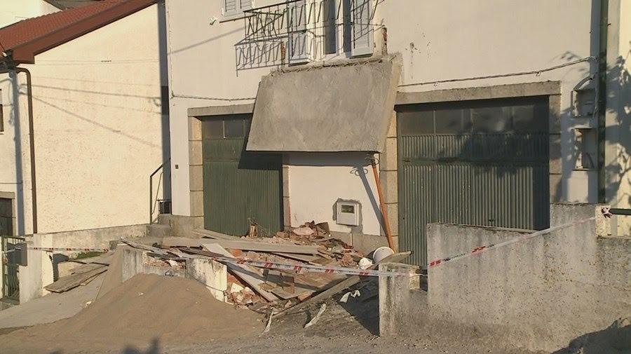 Homem morreu esmagado por varanda em Lamego