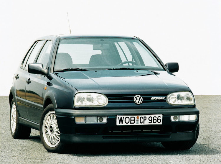 The VR6 offered multi-cylinder performance.